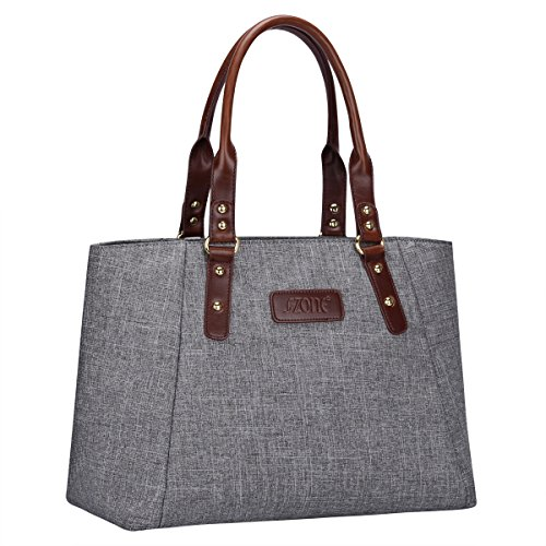 S-ZONE-Womens-Leather-Handbags-Lightweight-Large-Tote-Casual-Work-Bag