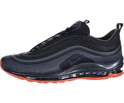 41a9fcc84d4b6 NIKE Men's Air Max 97 UL '17 P Shoe Black/Anthracite/Orange Size: 9 ...