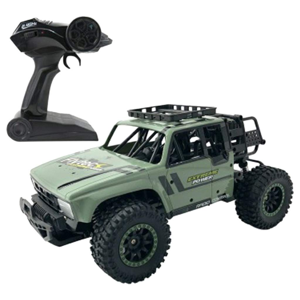 RC Military Truck Rock Crawler 1/14 Scale 2.4G 2WD Offroad RC Monster Truck 20KM/H High Speed Remote Control Car RC Rock Cruiser Buggy Toy Cars for Children