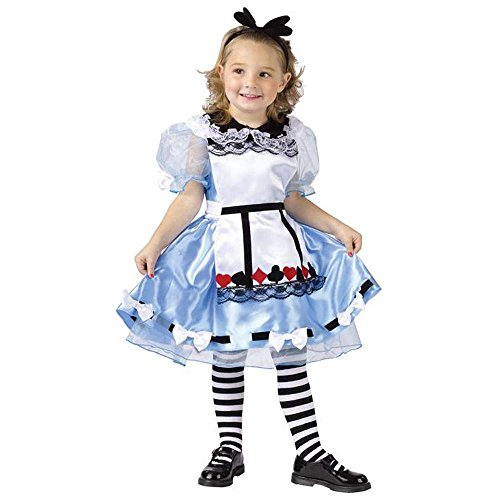 Alice Child Costume (Toddler Alice In Wonderland Costume)