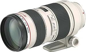 Canon EF 70-200 mm/1:2,8 L USM - Objetivo para Canon (distancia focal 70-200mm, apertura f/2,8, tamaño de filtro: 76 milimeters) color negro y blanco [importado]