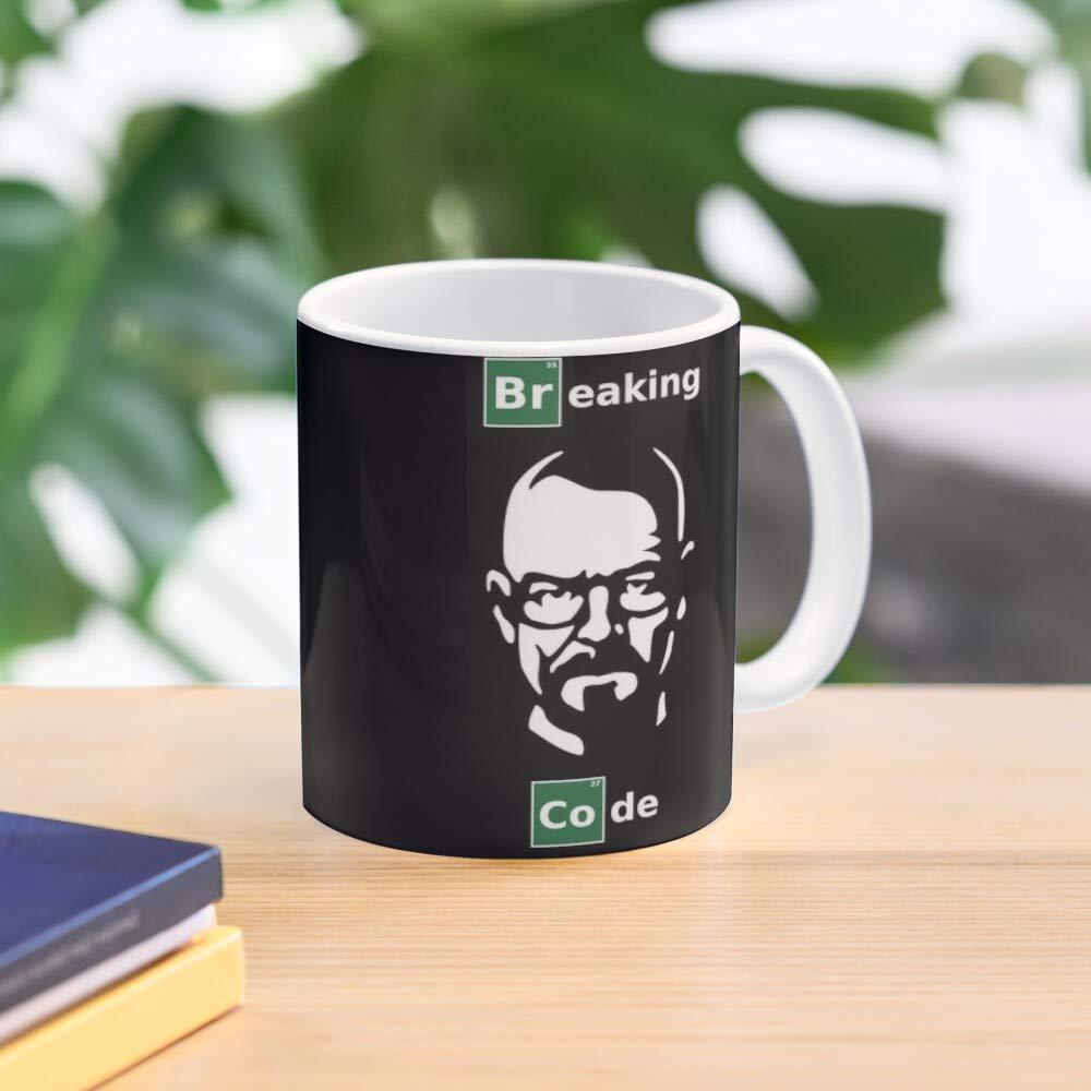 Green Mug Code White Breaking Programmers For Parody Meistverkaufte Standardkaffee 11 Unzen Geschenk Tassen f/ür alle