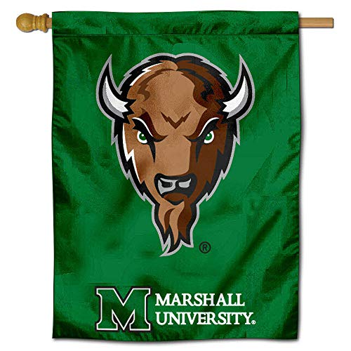 College Flags and Banners Co. Marshall University Thundering Herd House Flag