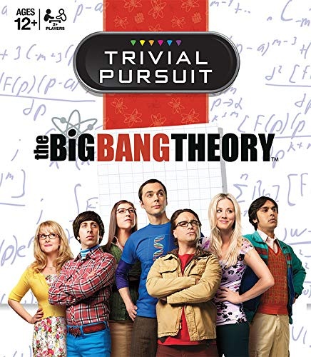 USAopoly The Big Bang Theory Trivial Pursuit Board -