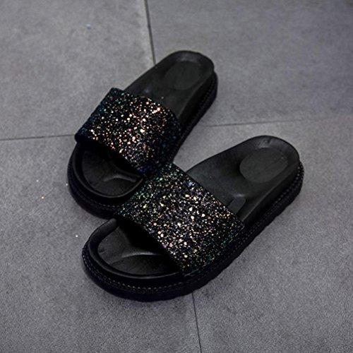 Sandals Noir Bride Cheville Femme Jamicy Wg0Ixnww