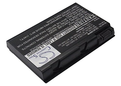 Replacement Battery for COMPAL CL50, CL51 Part NO BATCL50L, BATCL50L4, BT.00803.005 Acer Batcl50l Battery Replacement
