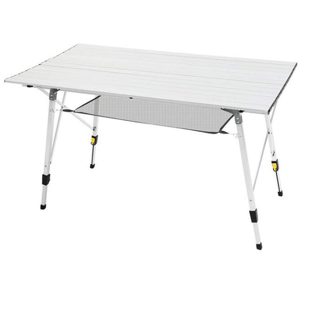 Large Outdoor Ultra Light Portable Aluminum Folding Table Wild Hiking Camping Mini Dining Table,Large