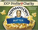 Newman's Own Microwave Popcorn, Butter Pop, 10.5 Ounce
