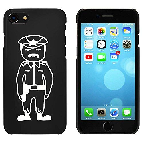 Schwarz 'Polizist' Hülle für iPhone 7 (MC00087384)
