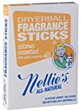 Nellie's All-Natural Fragrance Sticks - Citrus Scented (Product to be used with Nellie's Quick Change Dryerballs)
