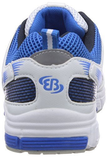 Bruetting Men's Runaway Running Shoes White - Weiß (Weiss/Marine/Royalblau) 26bVQIG6dE