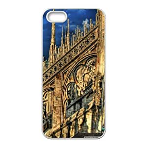 cathedral in milan italy Case For Sam Sung Galaxy S5 Mini Cover Cases For Women Protective, Case For Sam Sung Galaxy S5 Mini Cover Shockproof [White]
