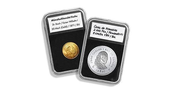 Cápsulas para monedas QUICKSLAB, diámetro 34 mm: Amazon.es ...