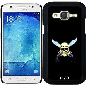 Funda para Samsung Galaxy J5 - Cráneo Del Pirata by hera56
