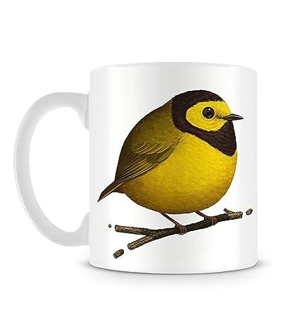 Little Yellow Bird >> Amazon Com Little Cute Cool Funny Fat Yellow Bird On A Branch Hand