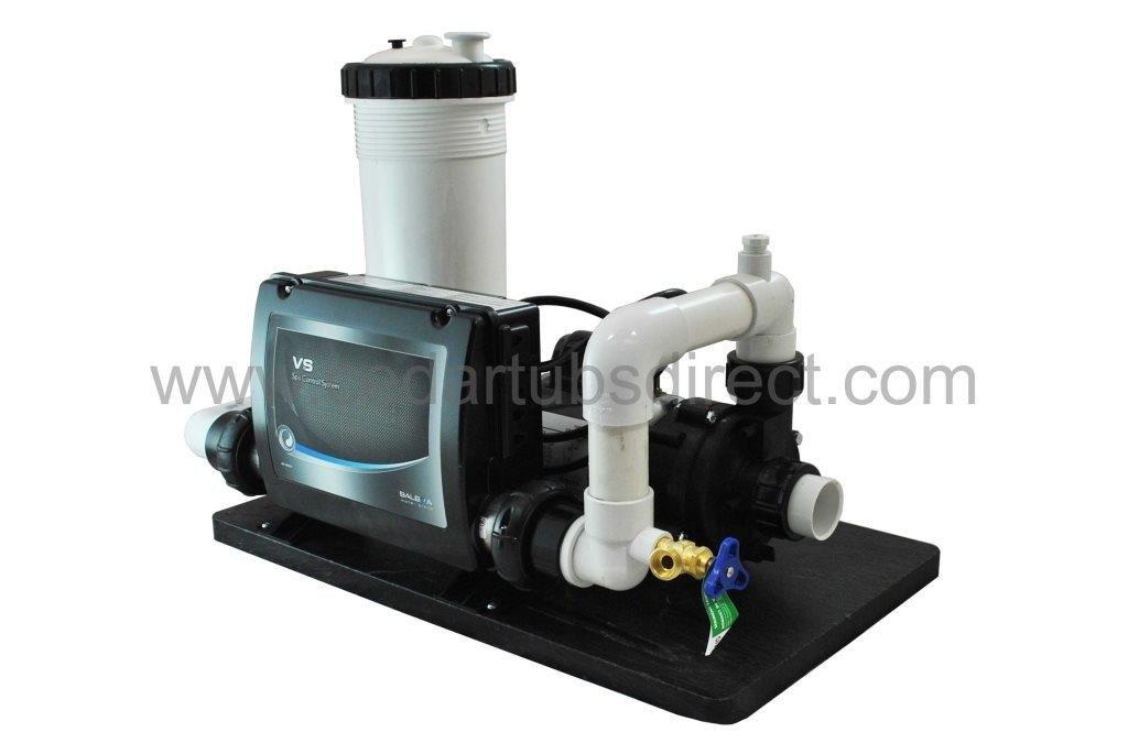 Balboa Circ Spa System - 1/15 HP Circulation Pump, 1.5 Kw Heater, 50 ft