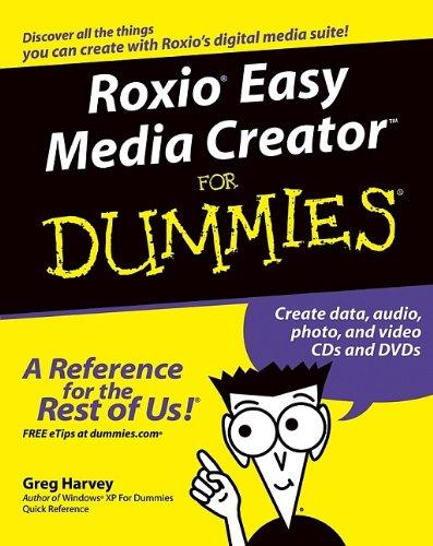Read Online Roxio Easy Media Creator For Dummies ebook