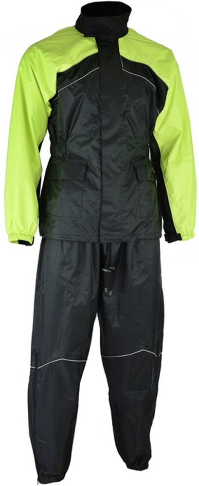High Visibility Motorcyle Rain Suit