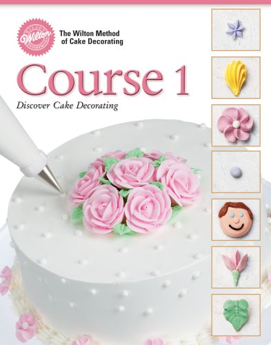 amazoncom wilton 902 240 48 page soft cover cake decorating guide course 1 food sculpting tools kitchen dining - Wilton Cake Decorating Classes