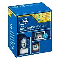 Intel i7-4790K Core Prozessor (4.00 GHz, Max. Turbo 4.4 GHz, Sockel 1150, 8M Cache, 88Watt)