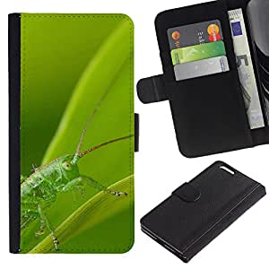 Ihec-Tech / Flip PU Cuero Cover Case para Apple Iphone 6 PLUS 5.5 - Plant Nature Forrest Flower 89