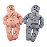 Husband and Wife Voodoo Dolls