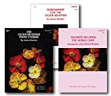 Bastien The Older Beginner Piano Level 2 Library Set - Three Book Pack - Includes The Older Beginner Piano Course, Musicianship for the Older Beginner and Favorite Melodies the World Over Books