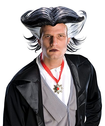 [Urban Vampire Men's Deluxe Gothic Steampunk Character Costume Wig] (Urban Vampire Costume)