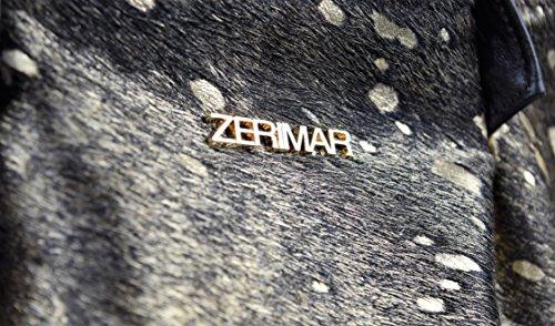 Zerimar Borsa a tracolla in pelle per donna Borsa a tarcolla con grande capacità Pelle morbida Oro-marrone
