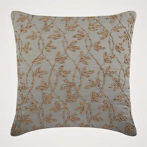 The HomeCentric Decorative Taupe Throw Pillow Covers, 16