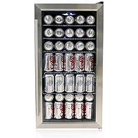 Whynter BR-125SD Beverage Refrigerator, Stainless Steel