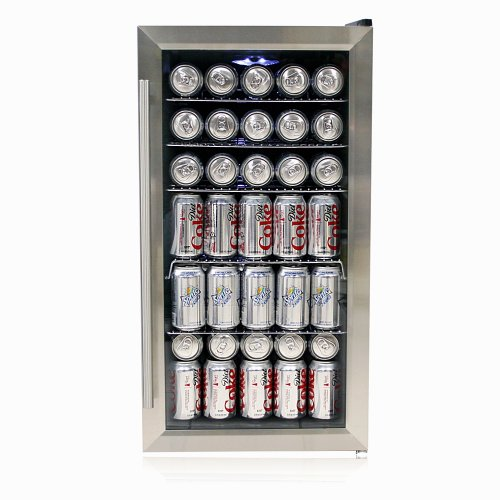 Whynter BR-125SD Beverage Refrigerator, Stainless Steel from Whynter