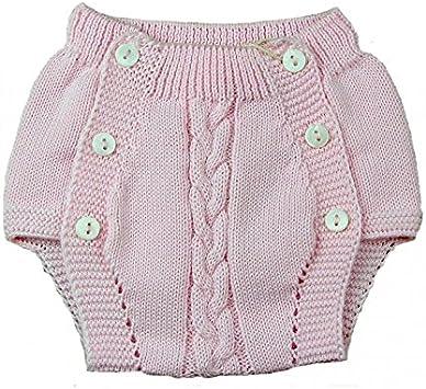 Ranita bebé Pecesa botones punto algodón Rosa: Amazon.es: Bebé