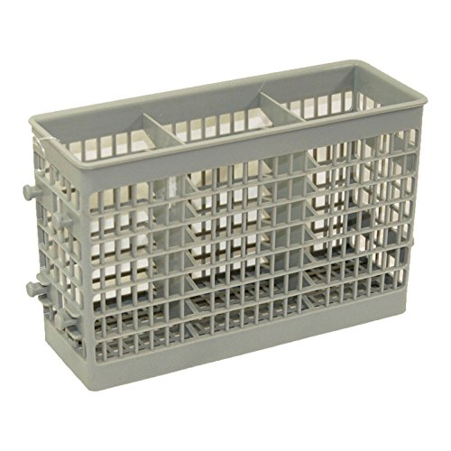 KHY Replacement Dishwasher Flatware Silverware Basket WD28X10195 FOR GE Electric Hotpoint RCA and others 1264026 AH1481954 (Flatware Sears)