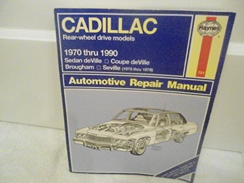 Cadillac 1990 (Haynes automotive repair manuals series)