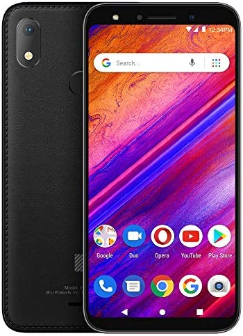 BLU X5 5 7 Display Smartphone Black product image