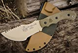 Tops Knives Tom Brown Tan Tracker Fixed Blade Knife