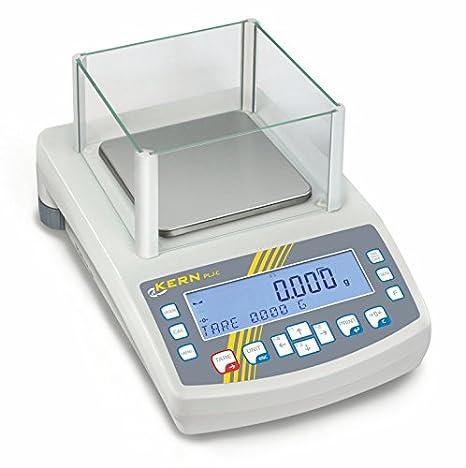 Balanza de precisión [Kern PLJ 600-3CM] Seguridad de procesos gracias al ajuste