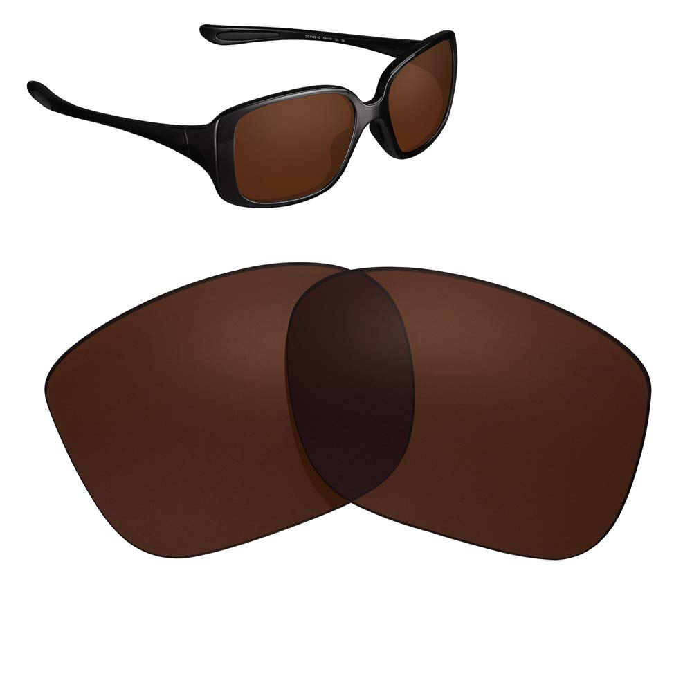 Polarized Replacement Lenses for Oakley LBD Women's OO9193 Sunglasses Brown 02
