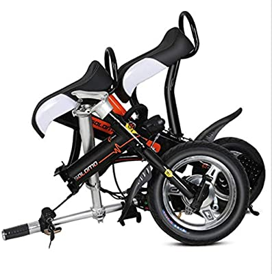 SSCJ Bicicleta Eléctrica Plegable Mini Adulto Scooter Eléctrico ...