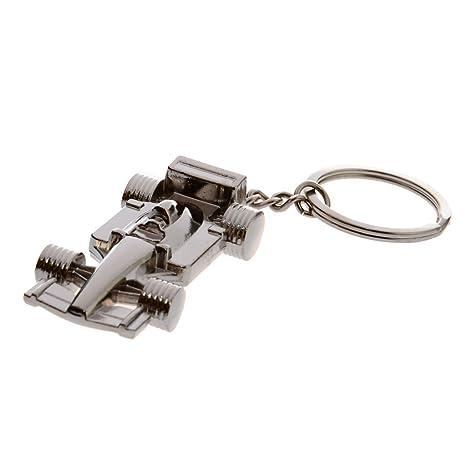 Formula 1 Racing Car Metal Keyring