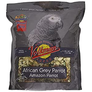 Volkman Avian Science Super African Grey Bird Food 4 lb 18