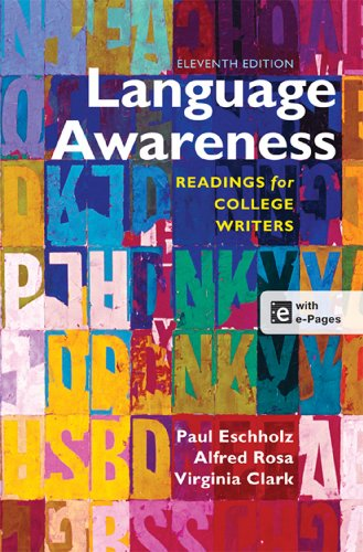 Language Awareness: Readings for College Writers by Brand: Bedford/St. Martin's