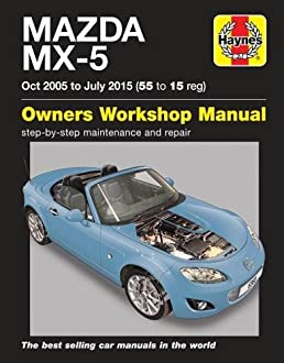 mazda mx 5 owners workshop manual amazon co uk martynn randall rh amazon co uk 2008 miata service manual 2008 Mazda MX-5 Special Edition