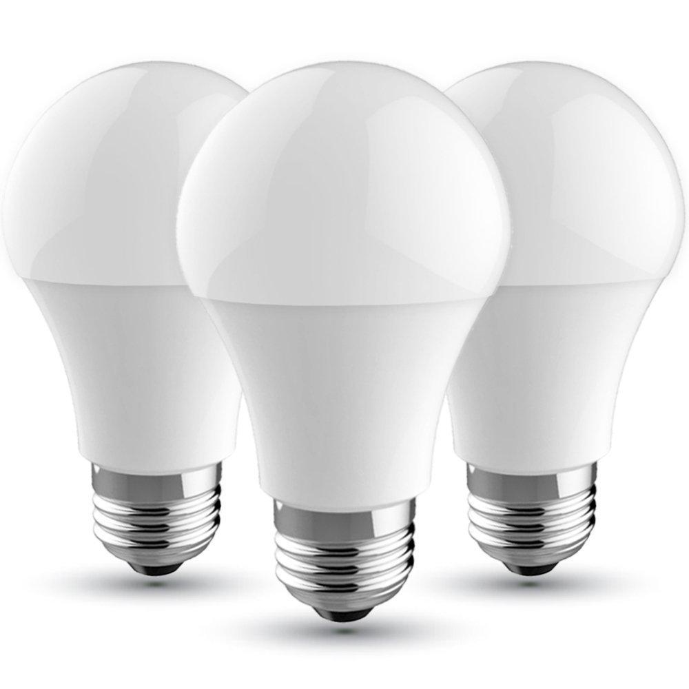 V-TAC Bombilla LED E27, 9 W equivalente a 60 W, 806 lúmenes, Color: Blanca Fria 6400K, 200° - 3 unidades: Amazon.es: Bricolaje y herramientas