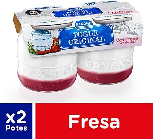 Danone Yogur con Fresas, 2 x 135g