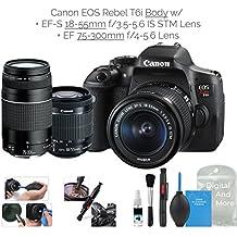 [Patrocinado] Canon EOS Rebel T6i - Cámara réflex digital (WiFi habilitada)
