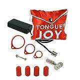 Lix Tongue Joy Oral Vibrator, Silver