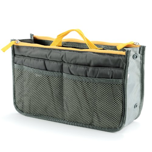 Short Close Organizers Handles Gray With Divisions Bag For Bags 1wYx7qIRY