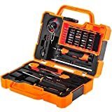 EEEKit Precision 45 in 1 Screwdriver Set Repair Maintenance Kit Tools for iPhone, iPad, Samsung Cell Phone,Tablet PC, Laptop,Computer and other Electronic Devices (45 in 1)